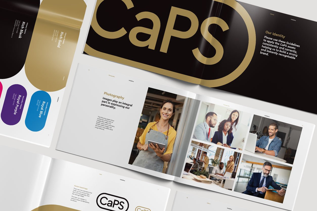 xHeight produced Brand Identity Profile for CaPS